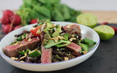 Rezept: Asiatischer Steak Salat